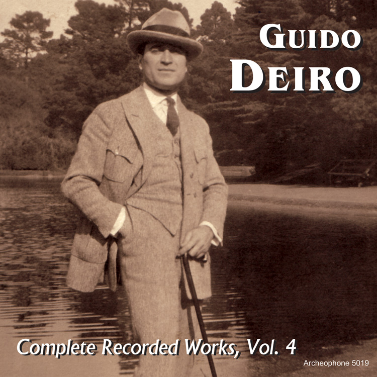 Guido Deiro, Complete Recorded Works, Vol. 4