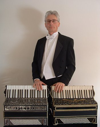 Doktorski with Pietro and Guido's accordions