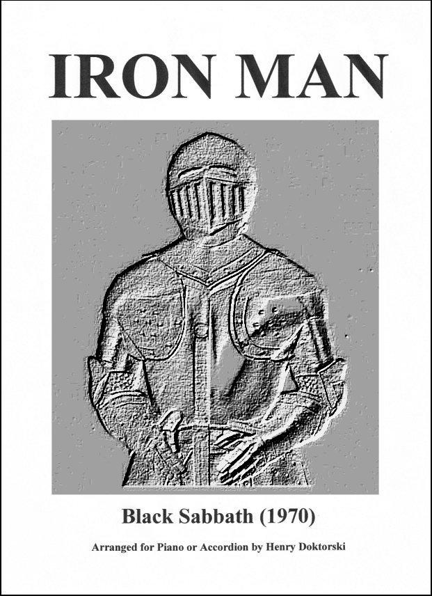 Printed Music Score and Audio Compact Disc Black Sabbaths Iron Man